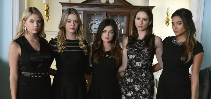 Pretty Little Liars Surfing The After Shocks Recap